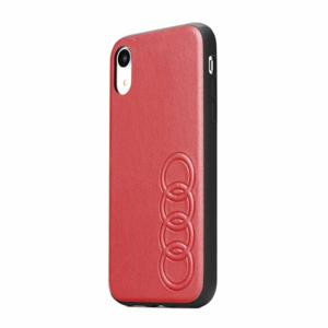 Puzdro Original Audi Leather AU-TPUPCIP11M-Q8/D1-RD iPhone 11 Pro Max (6.5) - červené