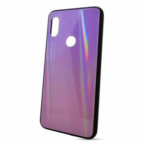 Puzdro Rainbow Glass TPU Honor 8X - ružové