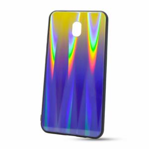 Puzdro Rainbow Glass TPU Xiaomi Redmi 8A - fialové