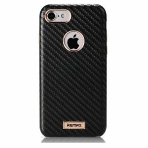 Puzdro Remax Carbon Hard iPhone 7/8 čierne
