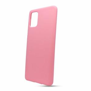 Puzdro Solid Silicone TPU Samsung Galaxy A71 A715 - svetlo ružové
