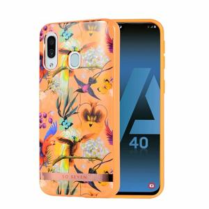 Puzdro SoSeven Coque Phuket TPU Silicone Samsung Galaxy A40 A405 Orange Parrot (EU Blister)