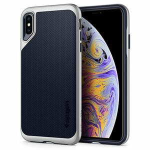 Puzdro Spigen Neo Hybrid iPhone Xs Max - satin silver