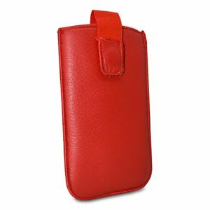 Puzdro Uni Koža, sk výroba veľkosť 13 - červené