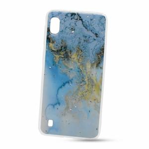 Puzdro Vennus Marble TPU Samsung Galaxy A10 A105 vzor 10 - zeleno-modro-zlaté