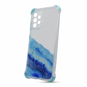 Puzdro Water TPU Samsung Galaxy A52 A525 vzor 4 - modré