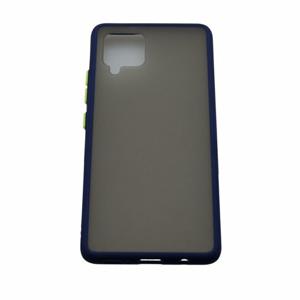 Samsung Galaxy A42 5G Plastové puzdro, tmavo modré, Season