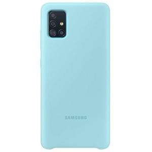 Samsung silikónové púzdro  EF-PA515TL pre Galaxy A51, modré