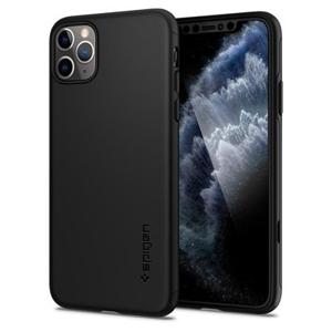 SPIGEN THIN FIT 360° obal + 9H Ochranné sklo Apple iPhone 11 Pro čierny