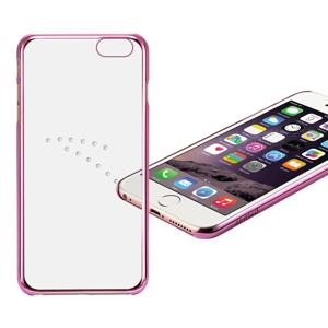 X-FITTED SWAROVSKI obal Apple iPhone 6 / 6S ružový (0003)